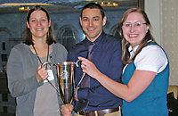 Baystate Surgery Residents receive 2012 ACS Top Gun trophy