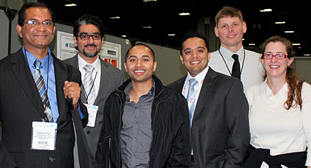 Baystate Anesthesiology residents at the 2012 ASA meeting
