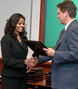 Significance in Research Award winner, Dr. Jaya Mallidi