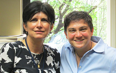 Drs. Tara lagu and Mihaela Stefan, winners of NHLBI K01 Awards